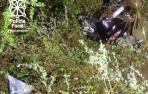 Un joven de Lekunberri, herido grave al caer su coche a una regata en Azpirotz