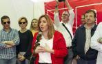 """Susana Díaz: """"Quiero arrasar en las elecciones"""""""