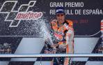 Pedrosa se exhibe y confirma el triplete español en Jerez