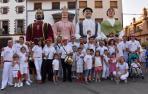 35 gigantes bailaron en las calles de Buñuel