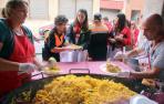 Paellada popular para 600 vecinos de Milagro