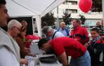 La candidatura de Luis Sabalza alcanza las 513 firmas