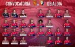 Aridane viaja con Osasuna a Zaragoza