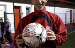 El póker de goles de Borja Arregui
