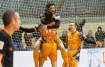 Tres goles seguidos del Aspil rompieron el choque contra Levante