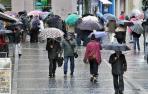 Lluvia y subida de las temperaturas antes de que se desplomen el domingo