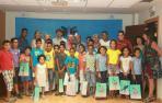 Una veintena de niños saharauis visitan la FNMC