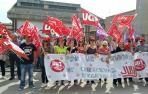 CC OO y UGT cifran en el 85% seguimiento de la huelga en conservas vegetales