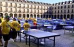 Ocaña bate el récord de jugadores de tenis de mesa simultáneos