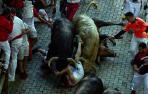 Cruz Roja y DYA atienden a 70 personas tras el quinto encierro