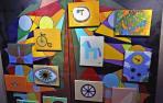 """Arte contra los """"estigmas"""" sobre la salud mental en El Corte Inglés de Pamplona"""