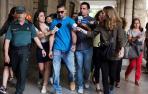Los cinco miembros de 'La Manada' vuelven a los juzgados