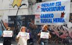 """Consuelo Ordóñez irrumpe en un acto por los huidos de ETA y pide """"justicia"""""""