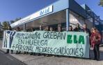 El seguimiento de la huelga en las ITV provoca el cierre en Imarcoain y Arbizu