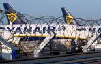 Ryanair cancela 190 vuelos el viernes por la huelga de tripulantes