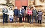 Visita de parlamentarios forales a las obras de San Gregorio de Sorlada
