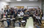 La banda de música Bizkarra celebra 25 años de música en Dicastillo