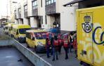 CCOO, UGT y CSIF cifran en el 80% el seguimiento de la huelga en Correos