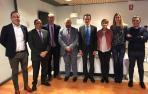 Universidad, I+D+i y energías renovables asuntos tratados por Duque en Navarra