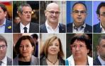 """La Fiscalía pide hasta 25 años de prisión por rebelión para los líderes del """"procés"""""""