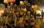 Disfraces en la Nochevieja de Pamplona 2018. PEDRO MIMBRERO