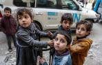 """Siete años de guerra en Siria dejan un """"terrible impacto"""" sobre todo en niños"""