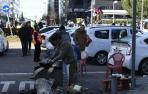 Sexto día de huelga de los taxistas, pendientes de la respuesta de la Comunidad