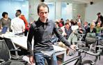Javier Iriberri pasa de los 5.000 km en bici al sofá de casa