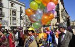 Un desfile de Carnaval en Navarra.