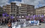 Manifestación del 8M en Estella