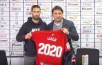 """Lillo, """"privilegiado"""" por seguir en Osasuna y aspirar al ascenso"""