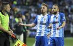 El Málaga no sale de su atasco como local