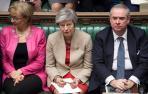 El Parlamento británico buscará el lunes evitar una salida abrupta de la UE