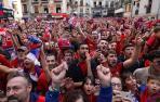 Celebraciones del C.A. Osasuna en las instituciones navarra