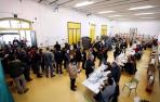 La participación en Navarra a las 14 horas es del 40,36 por ciento, similar a la de 2015