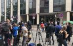 Shakira evita la puerta principal al llegar al juzgado pese a la orden de la juez