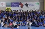 Huarte, con sus campeonas
