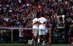Choque histórico y choque para la historia en Wimbledon