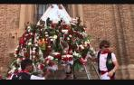 Ofrenda floral a Santa Ana en fiestas de Tudela 2019