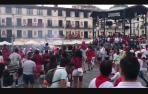 Vídeo del toro de fuego del 27 de julio de fiestas de Tudela 2019