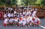 Fotos del cohete de fiestas de Monteagudo 2019