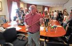 "Afredo Arruiz, alcalde de Huarte: ""Estoy convencido de que esto será enriquecedor"""