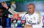 Rueda de prensa de Zidane.