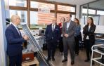 Ayerdi y Cigudosa se reúnen en CENER para conocer sus últimos proyectos