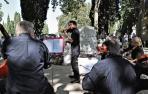 Sarasate, homenajeado en el cementerio de Pamplona en su 110 aniversario