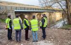 Concluyen las obras del puente de Ibero para la circulación de vehículos pesados