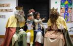 Los Reyes Magos en manos de los niños
