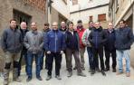 Optimismo entre los agricultores riberos ante el desbloqueo del Canal