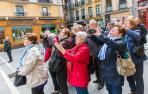 En 2015 aumentaron un 7% las pernoctaciones y un 4% el número de viajeros que visitaron Pamplona, según los datos recogidos por la Oficina de Turismo municipal