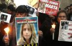 Protestas por la sentencia por el asesinato de Marta del Castillo.